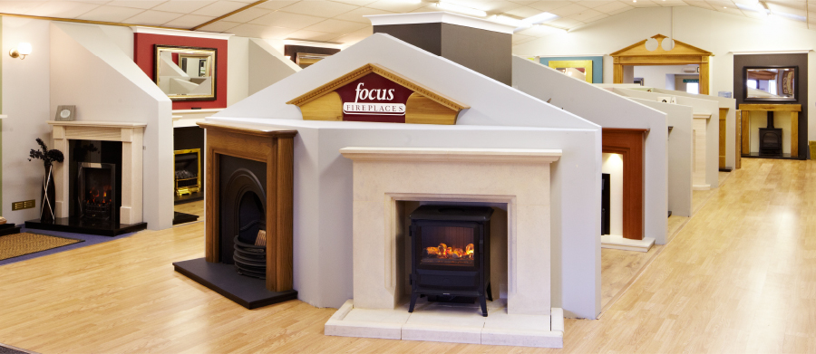 Focus Fireplaces & Stoves Showroom