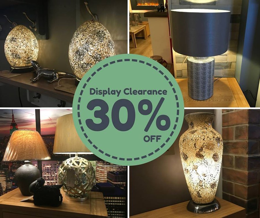Lamp clearance - Focus Fireplaces, stoves and living